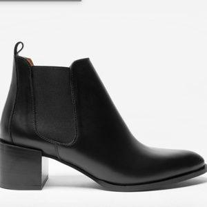 Everlane The Heel Boot in black 10.5